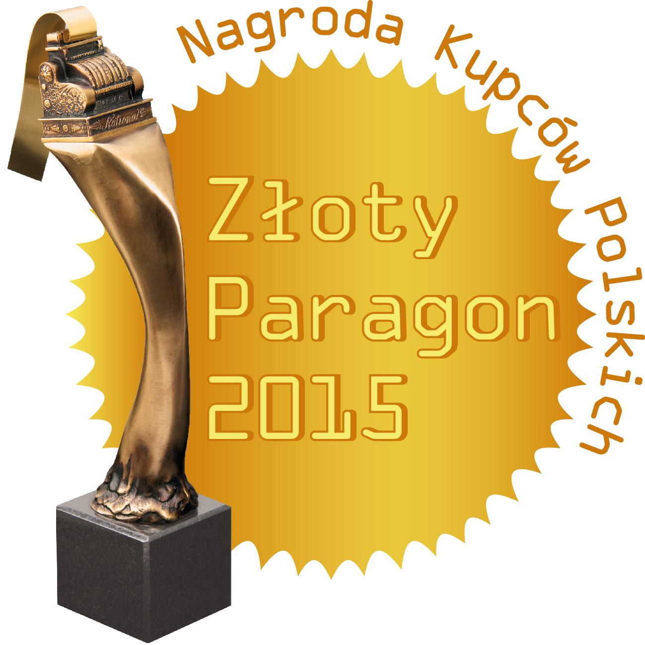 Konkurs Złoty Paragon 2015 rozstrzygnięty!