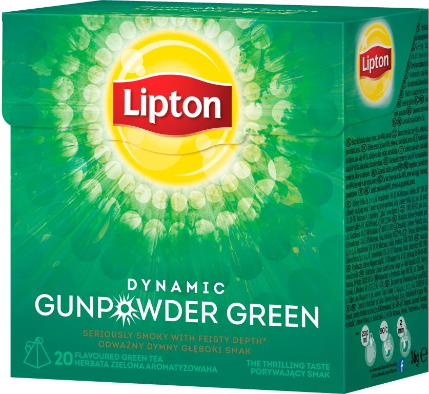 Lipton Dynamic Gunpowder Green