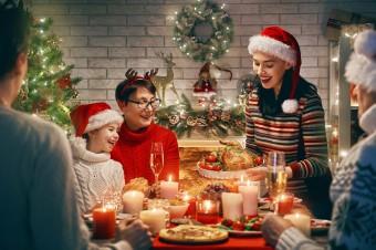 Aromatyczny stół świąteczny