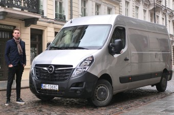 Nowy Opel Movano Furgon L3H2