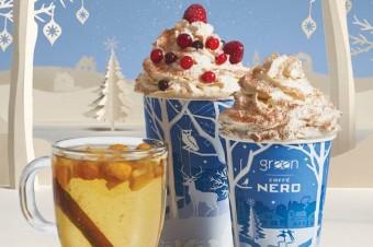 Sieć kawiarni Green Caffè Nero odlicza promocje do świąt