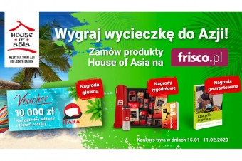 Konkurs House of Asia: do wygrania voucher na wycieczkę do Azji