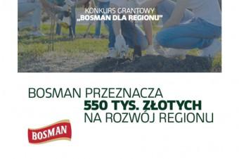 Bosman przeznacza 550 tys. złotych na rozwój regionu
