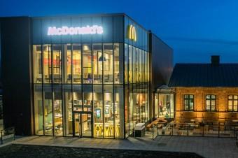 Restauracja McDonald's na warszawskim Targówku
