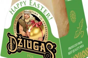 Wielkanocne opakowania Dziugas i Magija od Žemaitijos pienas