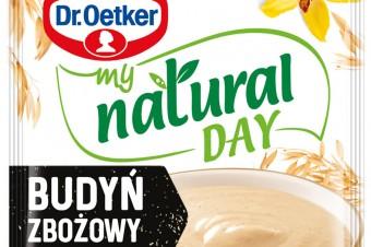 Kampania reklamowa nowej linii produktowej  My Natural Day od Dr. Oetkera