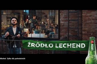 """Lech Premium jako """"Źródło Lechend"""" w nowym spocie reklamowym!"""