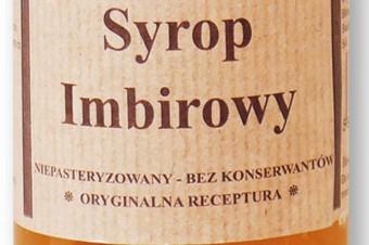 Syrop imbirowy 100% z kawałkami imbiru