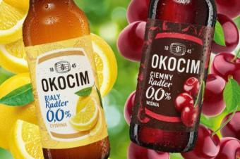 """""""Białe orzeźwienie"""" i """"Ciemny charakter"""" –  nowe radlery 0,0% od marki Okocim"""