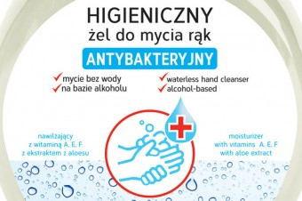 Higieniczny żel do mycia rąk – antybakteryjny od Gold Drop