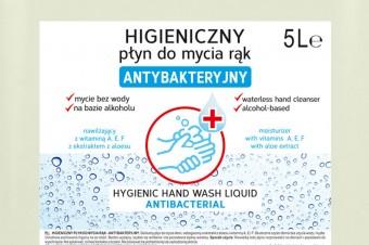 Higieniczny płyn do mycia rąk – antybakteryjny od firmy Gold Drop