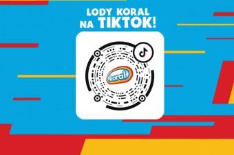 Koral pierwszą marką lodów z oficjalnym kontem na TikToku