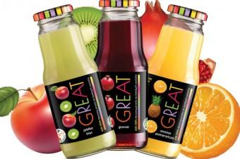 Jakość i smak soków GREAT nagrodzona przez konsumentów!