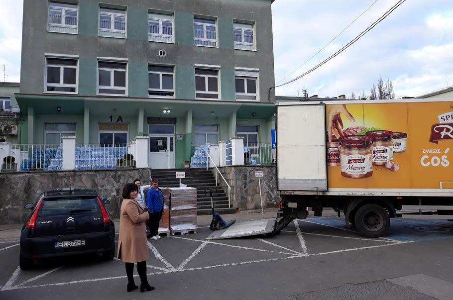 Pamapol wspiera służbę zdrowia w województwie łódzkim