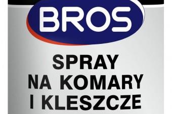 Silna nowość w ofercie BROS - Spray na komary ikleszcze 50% DEET