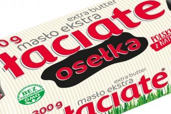 Dwa nowe masła Łaciate -  osełka 300 oraz 500 gramów.