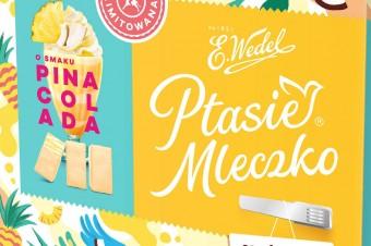 Ptasie Mleczko® o smaku Pina Colada – limitowane letnie pianki
