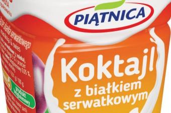 Koktajle z białkiem serwatkowym z Piątnicy od kwietnia na rynku