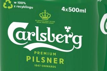 Carlsberg - prawdopodobnie najbardziej  zielone piwo na świecie