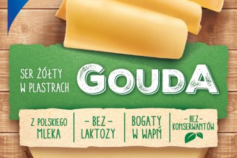 Gouda – delikatna i kremowa. Najbardziej żółta z żółtych serów