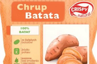 Suszone chipsy z batatów