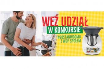 """Konkurs #zostańwdomu z WSP """"Społem"""""""