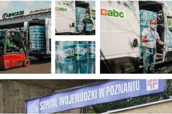Eurocash Cash & Carry zebrało ponad 146 tys. litrów wody dla  szpitali w całej Polsce