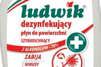 Ludwik dezynfekujące płyny do powierzchni - NOWOŚĆ