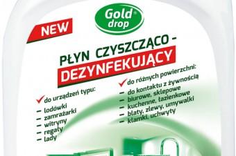 Gold Drop - Płyn czyszcząco dezynfekujący do urządzeń i różnych powierzchni