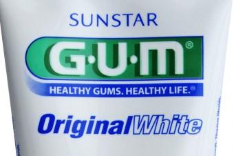 GUM wybielające pasty i płyny do higieny jamy ustnej