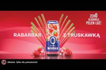 Historia powstania rabarbaru, truskawki i bezalkoholowego radlera – oto nowy spot Warki Radler 0,0%