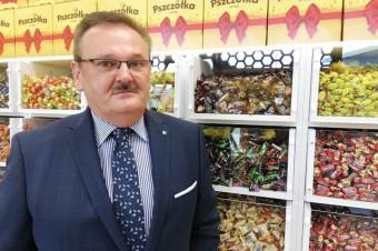 """Wywiad z Leszkiem Wertejukiem, Prezesem Zarządu Fabryki Cukierków """"Pszczółka""""."""