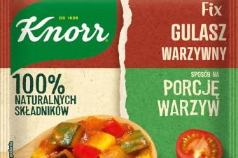 Fixy Sposób na porcję warzyw Knorr Curry, gulasz i spaghetti z warzywnym twistem!