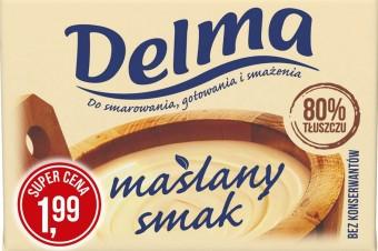Delma Maślany smak w kostce – używaj jak masła