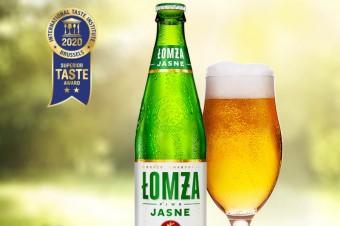 Superior Taste Award dla piwa Łomża Jasne