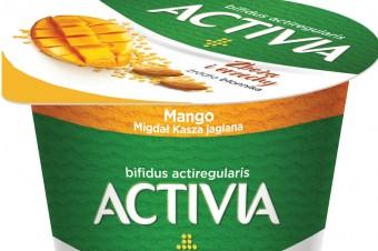 Wprowadź do diety ciekawe składniki. Wybierz nowe jogurty Activia z błonnikiem
