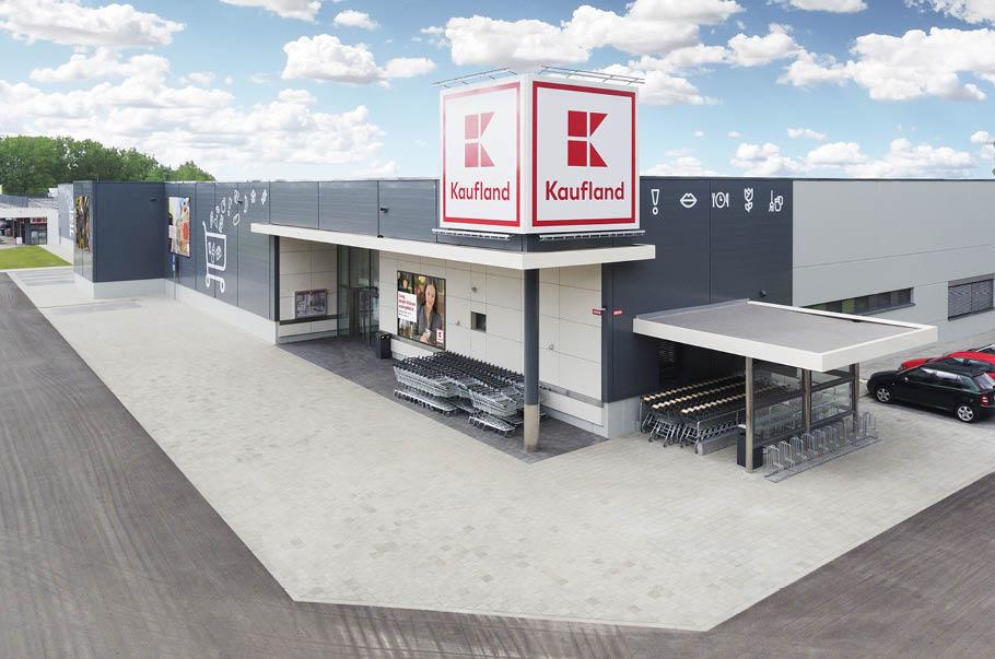 Kaufland rozpoczyna modernizację kolejnych sklepów