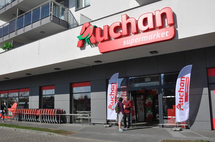 Auchan Retail Polska podpisało umowę najmu dla 6 lokalizacji należących do Griffin Real Estate
