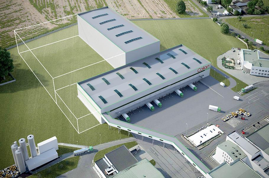 Colian rozpoczyna budowę nowego magazynu w zakładzie w Opatówku