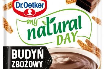 Kampania reklamowa nowej, naturalnej linii zdrowych przekąsek i deserów My Natural Day od Dr. Oetkera