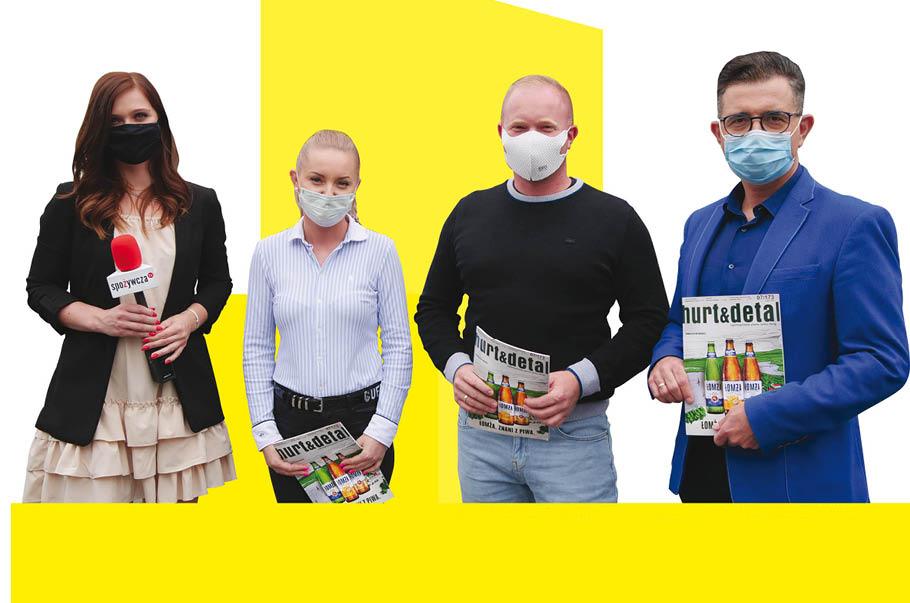 Joanna Kowalska, redaktorka Hurt & Detal; Barbara Łyczko, właścicielka; Krzysztof Łyczko, właściciel; dr Marek Borowiński, Shop Doctor.