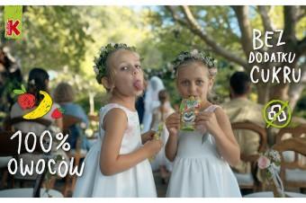 Kubuś przypomina, że Mus 100% to owoce od dziecka!