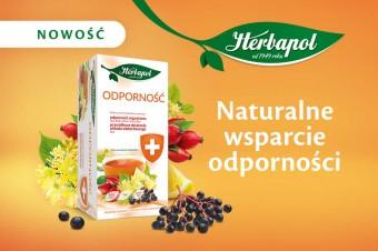 Nowa herbatka funkcjonalna w portfolio marki Herbapol – Odporność!