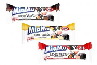 MiaMu batoniki twarogowe w polewie czekoladowej