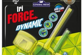Kostki do WC Tri-Force Dynamic w nowej odsłonie