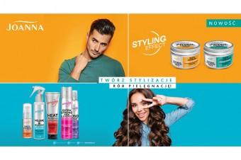 Joanna z nową kampanią produktów linii Styling Effect