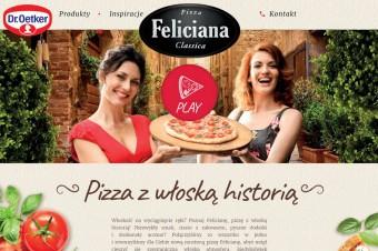 Nowa strona pizzy Feliciana –nowoczesna i intuicyjna