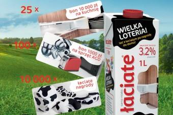 Wyjątkowa loteria konsumencka mleka Łaciate. Ponad 10 tysięcy nagród