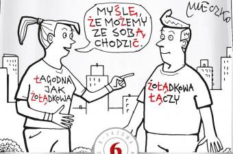 Żołądkowa de Luxe w limitowanej edycji z ilustracjami Andrzeja Mleczki