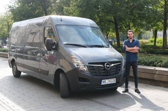 Opel Movano Furgon L3H2 –mierzy wysoko